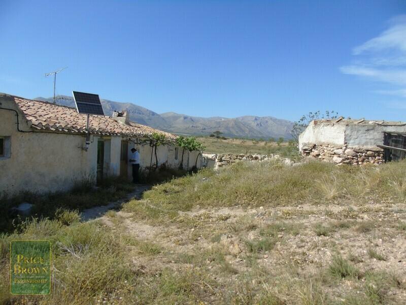 AF563: Cortijo for Sale in Chirivel, Almería