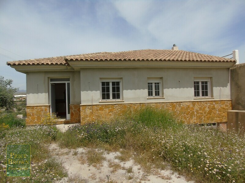 AF684: Villa for Sale in Cantoria, Almería