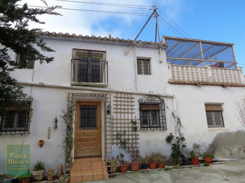AF695: Cortijo for Sale in Oria, Almería