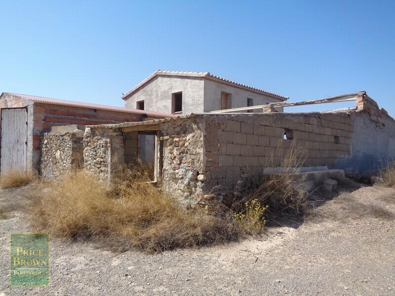AF709: Cortijo for Sale in Partaloa, Almería