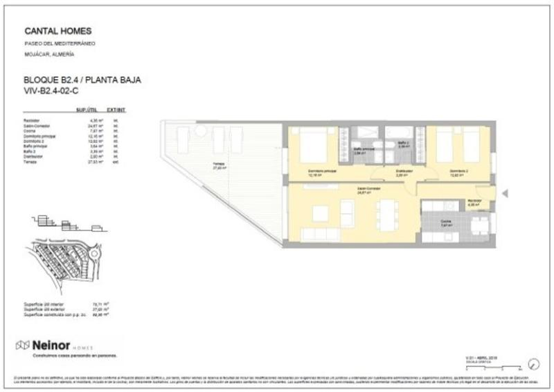 ND7: Apartamento en venta en Mojácar, Almería