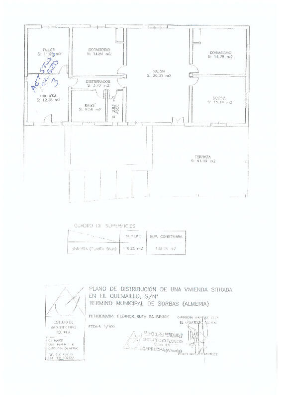 PBK71840: Cortijo for Sale in La Huelga, Almería